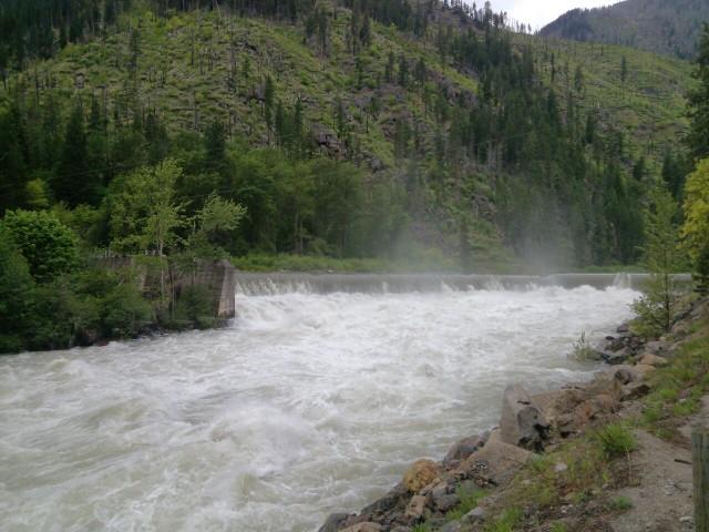 Tumwater Dam